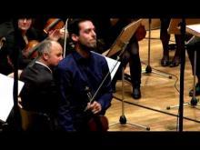Concerto voor viool en ensemble (Bram Van Camp), W. Aerts (viool)